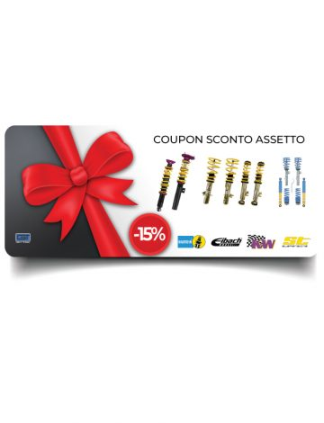 Coupon Assetto – 15%