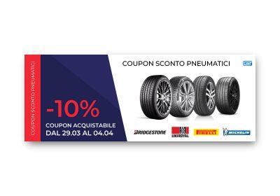 Coupon Pneumatici – 10%