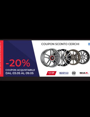 Coupon Cerchi – 20%